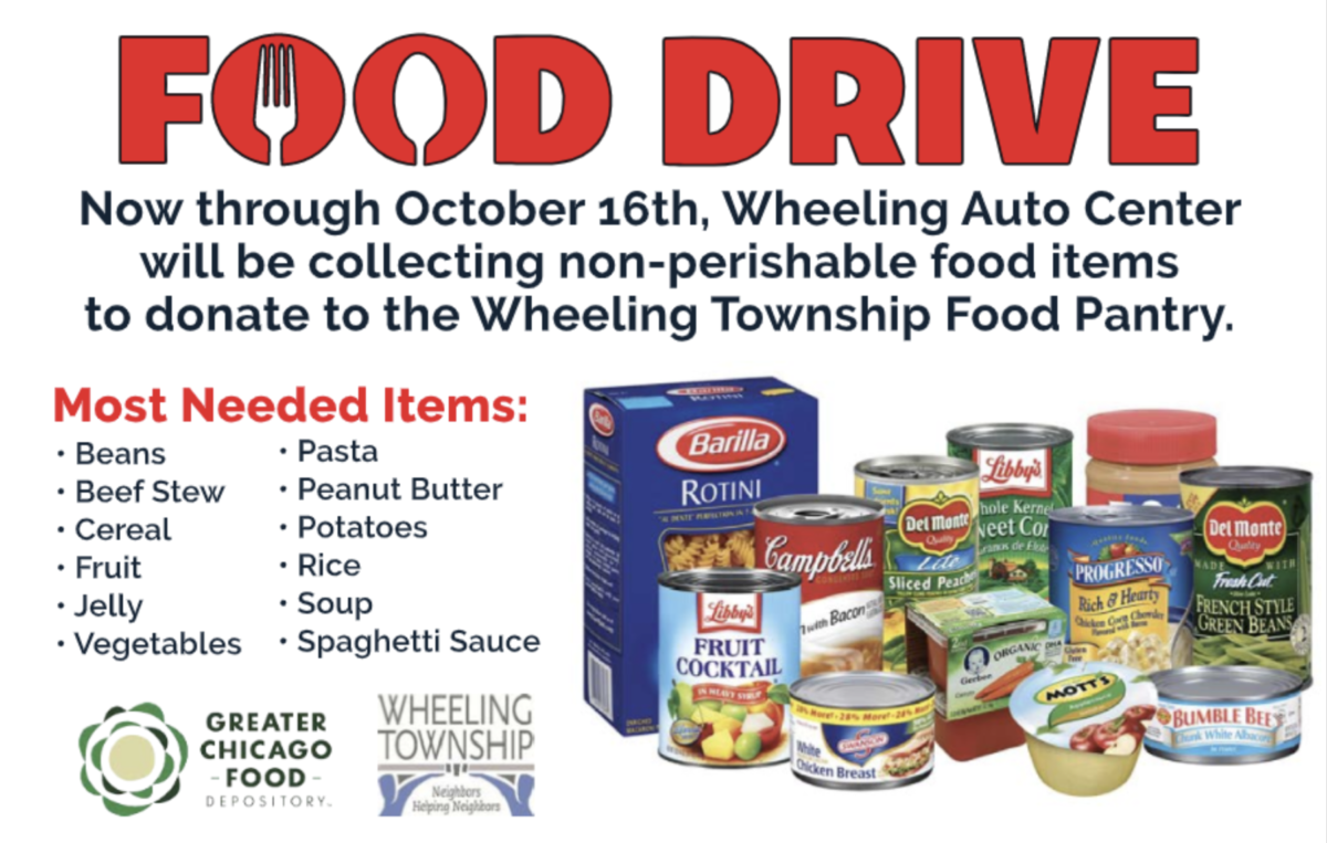 $10 off any service when you donate 3 non-perishable items